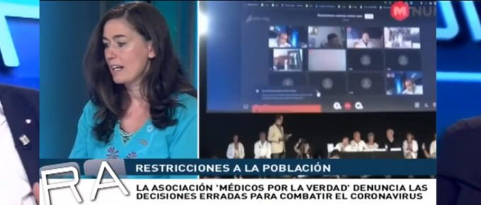[Vídeo] Y por fin los médicos rompen el silencio sobre la Pandemia. Entrevista a la Dra. Natalia Prego y al Dr. Ángel Ruiz.