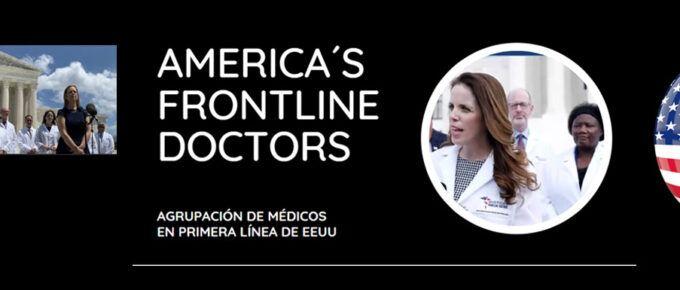 """[Video] Los Frontline Doctors de U.S.A. en rueda de prensa histórica en Washington declaran """"el Covid-19 tiene CURA"""". Y su video viral es censurado."""