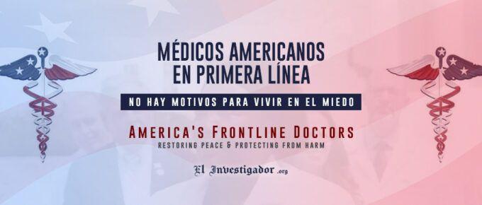 [Rueda de prensa] Médicos Americanos en Primera Línea: No hay motivos para vivir en el Miedo