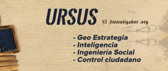 [Vídeo] Entrevista a URSUS sobre Geo-Estrategia, Inteligencia, Ingeniería Social y control ciudadano