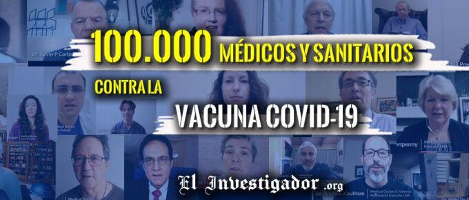"""[Video] Cerca de 100.000 Médicos y profesionales sanitarios se unen contra las """"Vacunas"""" Covid19"""