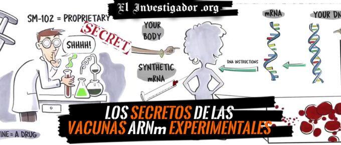 [Video] Los secretos de las Vacunas experimentales Covid19 de ARNm sintético