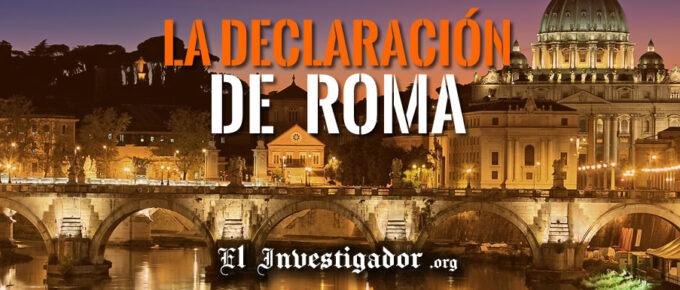 La declaración de Roma: Miles han muerto por Covid porque se les han negado tratamientos tempranos eficaces (Ivermectina - Hydroxycloroquina)